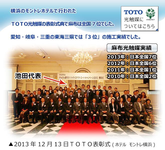 ECO上手キャンペーン表彰式