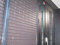 名古屋市S様邸、再現工法で施工、玄関先の画像