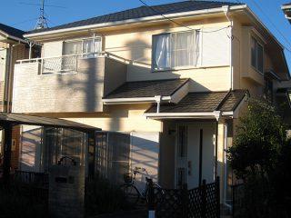 春日井市M様邸、外壁屋根塗替え後の外観全景写真