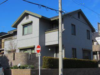 刈谷市Y様邸、外壁塗替え後の外観全景写真