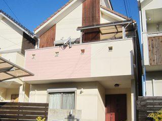 名古屋市N様邸、外壁塗替え後の外観全景写真