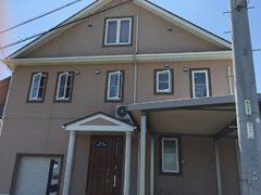 春日井市M様邸、外壁屋根塗替え工事、施工前の外観写真