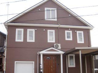 春日井市M様邸、外壁屋根塗装工事、施工後の外観写真