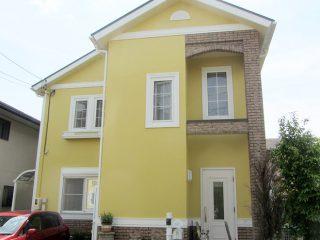 瀬戸市A様、外壁屋根塗装工事、施工後の外観全景画像