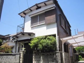 名古屋市M様、トタン金属外壁屋根の塗替え工事施工後、全景写真