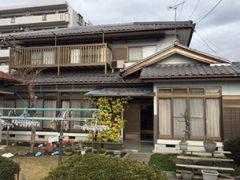 春日井市N様邸、施工前の外観全景画像