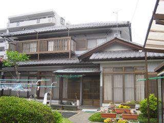 春日井市N様邸、外壁塗替後の外観全景写真