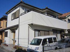 春日井市M様邸,外壁塗装,施工前,全景