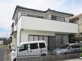 春日井市M様邸、外壁塗装工事施工後、全景写真