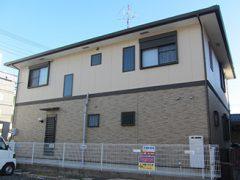 春日井市M様邸、外壁塗替え工事施工前、全景画像