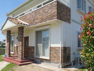 瀬戸市Y様邸、外壁塗装工事、施工後、全景写真
