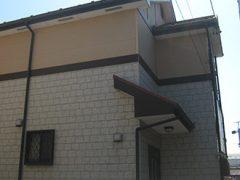 春日井市T様邸、外壁屋根塗替え工事、施工前、全景画像