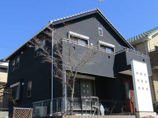尾張旭市S様邸、外壁塗装工事、施工後、外観写真