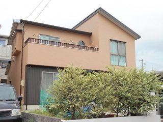 東海市K様邸、外壁屋根塗装工事、施工後、全景写真