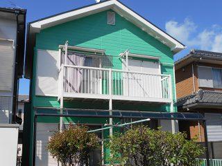 春日井市T様邸、外壁屋根塗装工事、施工後、外観写真