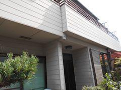 名古屋市Y様邸、外壁塗替え工事、施工前、全景画像