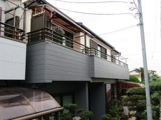 名古屋市Y様邸、外壁塗装工事、施工後、外観写真