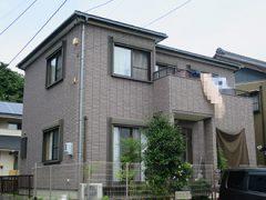春日井市S様邸、外壁屋根塗替え工事、施工前、全景画像