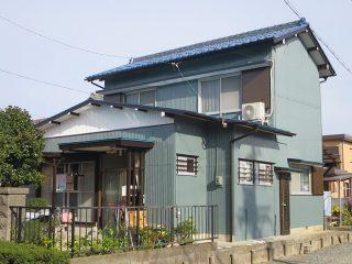 四日市市I様邸、外壁屋根塗装工事、施工後、外観写真