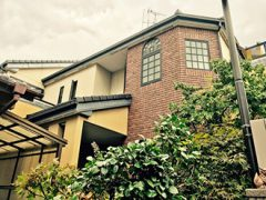 一宮市M様邸、外壁屋根塗替え工事、施工前、全景画像