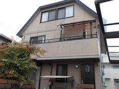 春日井市O様邸、外壁屋根塗替え工事、施工前、全景画像