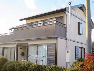 春日井市S様邸、外壁塗装工事、施工後、外観写真