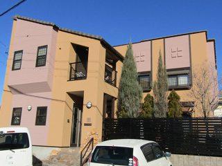 名古屋市T様邸、外壁屋根塗装工事、施工後、外観写真