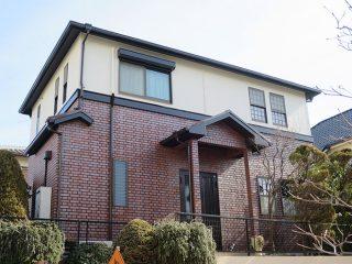 春日井市S様邸、外壁屋根塗装工事、施工後、外観写真