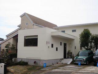 春日井市T様邸、外壁塗装工事、施工後、外観写真
