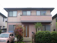 名古屋市T様邸、外壁屋根塗替え工事、施工前、全景画像