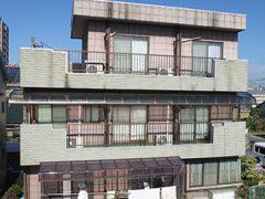 春日井市H様邸、外壁屋根塗装工事、施工前、外観写真