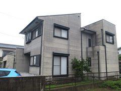 春日井市A様邸、外壁屋根塗装工事、施工前、外観写真