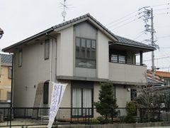 春日井市K様邸、外壁塗装工事、施工前、外観写真