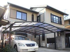 豊明市K様邸、外壁屋根塗装工事、施工前、外観写真
