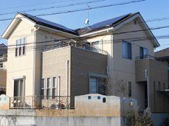 春日井市T様邸、外壁塗装工事、施工前、外観写真