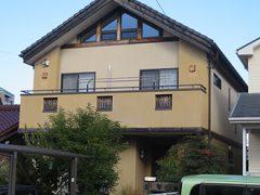 春日井市N様邸、外壁塗装工事、施工前、外観写真