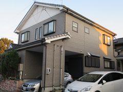 名古屋市K様邸、外壁塗装工事、施工前、外観写真