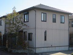幸田町T様邸、外壁塗装工事、施工前、外観写真