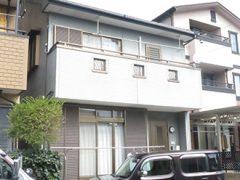 春日井市M様邸、外壁塗装工事、施工前、外観写真