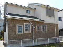 春日井市K様邸 外壁屋根塗装工事 施工前 全景写真