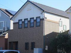 名古屋市K様邸 外壁塗装工事 施工前 全景写真