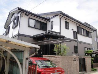豊田市Y様邸 外壁塗り替え工事 施工後 外観画像