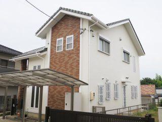 瀬戸市K様邸 外壁塗り替え工事 施工後 外観画像