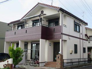 北名古屋市N様邸 外壁塗り替え工事 施工後 外観画像