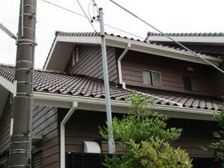 春日井市I様邸 外壁塗り替え工事 施工後 外観画像
