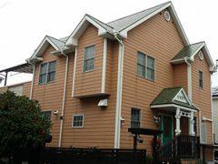 長久手市S様邸 外壁屋根塗装工事 施工前 全景写真