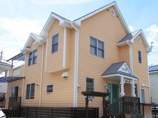 長久手市S様邸 外壁屋根塗り替え工事 施工後 外観画像