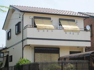 春日井市H様邸 外壁塗り替え工事 施工後 外観画像