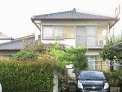 春日井市S様邸 外壁塗り替え工事 施工前 全景写真