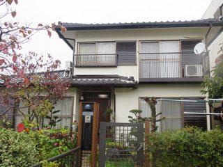 春日井市S様邸 外壁塗り替え工事 施工後 外観画像